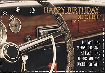 Geburtstagskarte Manner Gluckwunschkarte Geburtstag Happy