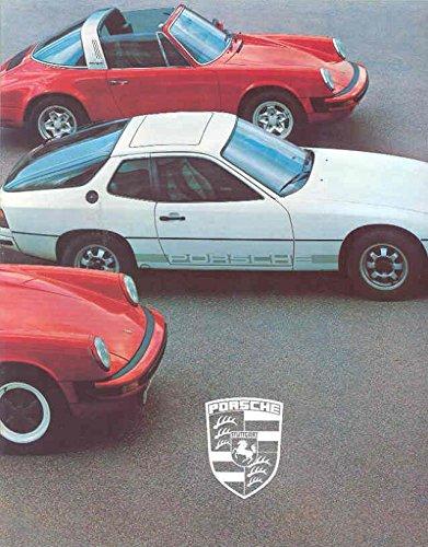 1979 Porsche 911 930 Turbo 928 924 Brochure