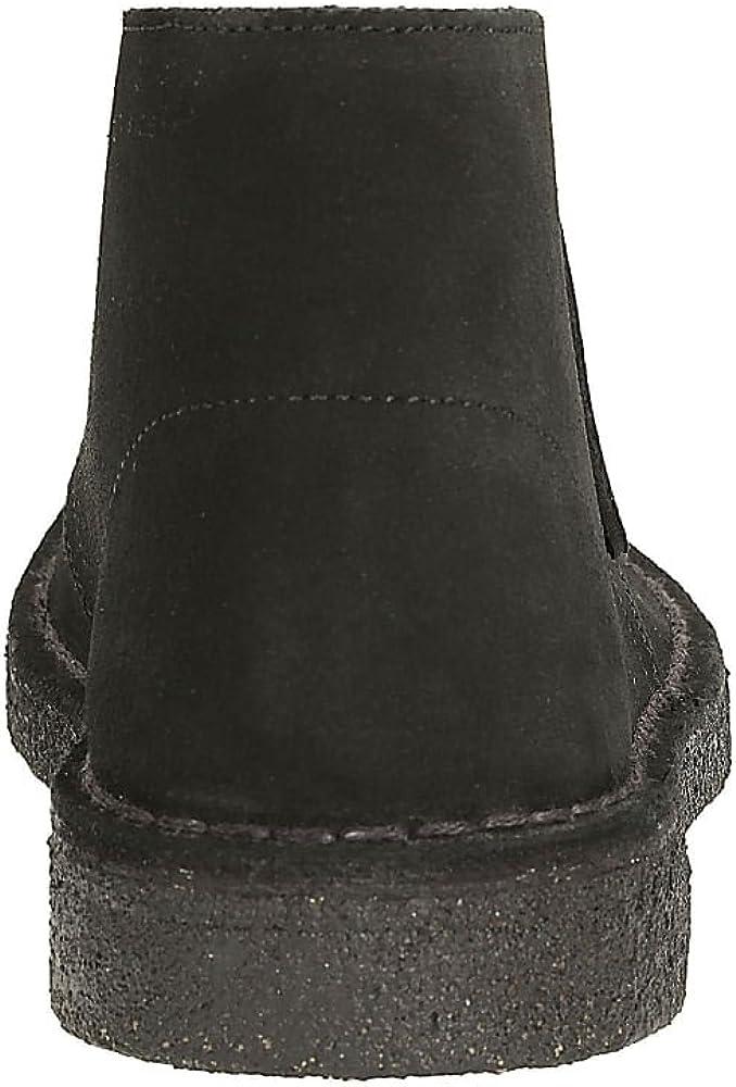 Clarks Originals Damen Desert Boots Schwarz Black