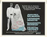 "Mississippi Mermaid - Authentic Original 28"" x 22"" Movie Poster"