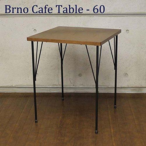 AT-6060(BR) Brno Cafe Table-60 ブルノ カフェテーブル 60cm幅 シンプル コンパクトデスク 洋風 2人用 正方形 ダイニングテーブル 食堂机 食卓 AY エーワイ B074CRJDKZ