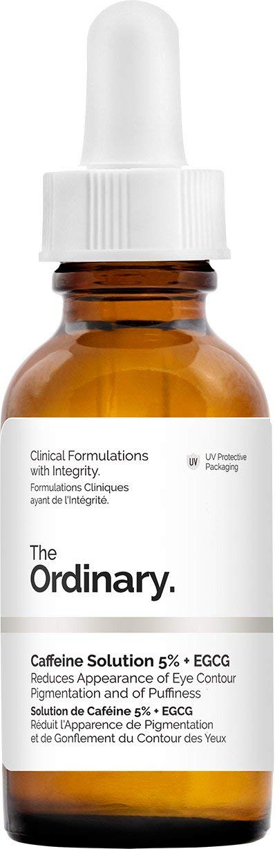 The Ordinary Caffeine Solution 5% + EGCG (30ml): Reduces Appearance of Eye Contour Pigmentation and Puffiness by THE ORDINARY