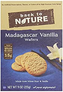 Back to Nature Cookies, Madagascar Vanilla, 9 Ounce