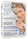 400 Profi-Telefonansagen, Warteschleifen, Hintergrundmusik gemafrei: Office-Audio-Set (im MP3-Format).