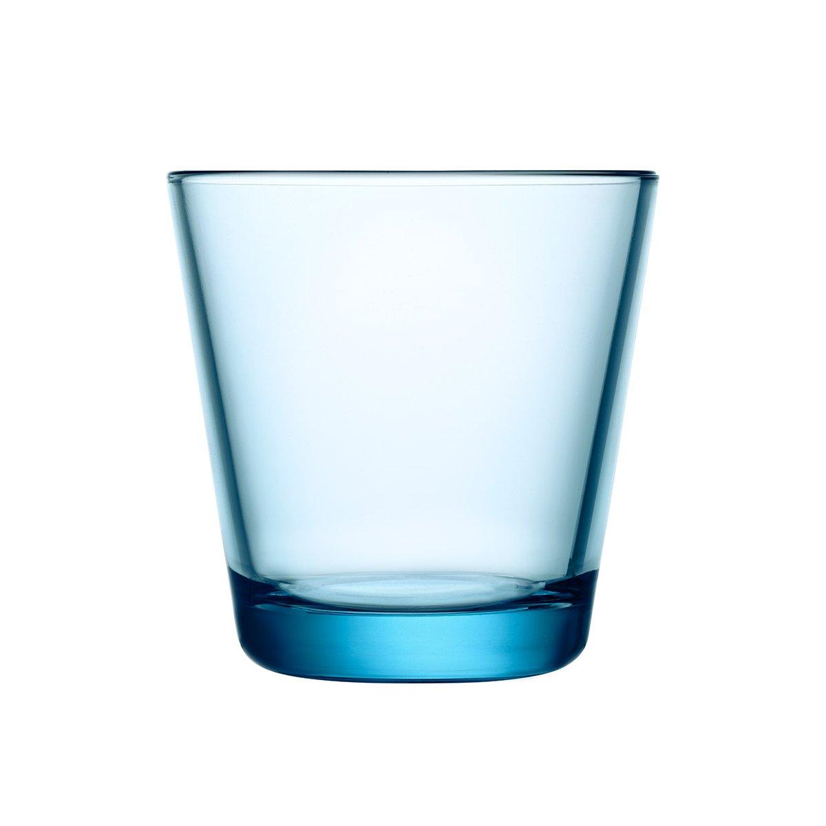 Iittala Kartio Drinking Glass, 2-pc Set, Water Glass, Juice Glass, Glass, Transparent, 210 ml, 1008533
