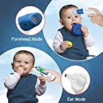 ?2020 New Mode?Medical Thermometer for Fever, Forehead and Ear Thermometer with Fever Indicator and Memory Function, Digital Temporal Infrared Thermometer, Best Accuracy for Baby, Kids, and Adults.