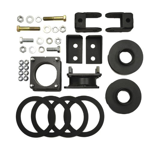 Hardware 2-Inch Lift Front 2-Inch Lift Rear Traxda 202020 Lift Kit InclusiveSway Bar End Links