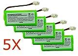 Axiom 5Pack Rechargeable Battery For BT1018, BT1022, BT1011, BT183348, BT18432, BT283348, BT800, BT6010, BT84342, BY0736, CBD8007
