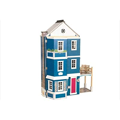 KidKraft Grand Anniversary Wooden Dollhouse with Furniture: Toys & Games