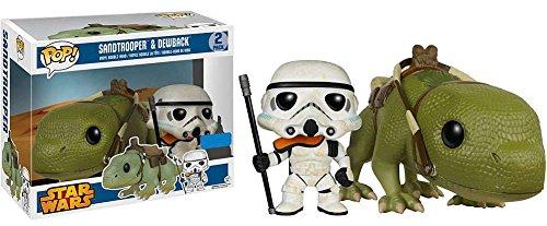 Funko Pop Vinyl Bobblehead  Star Wars Sandtrooper   Dewback Collectible Set