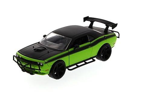 Amazon.com: New 1:24 DISPLAY - Fast & Furious - LETTY' BLACK GREEN ...