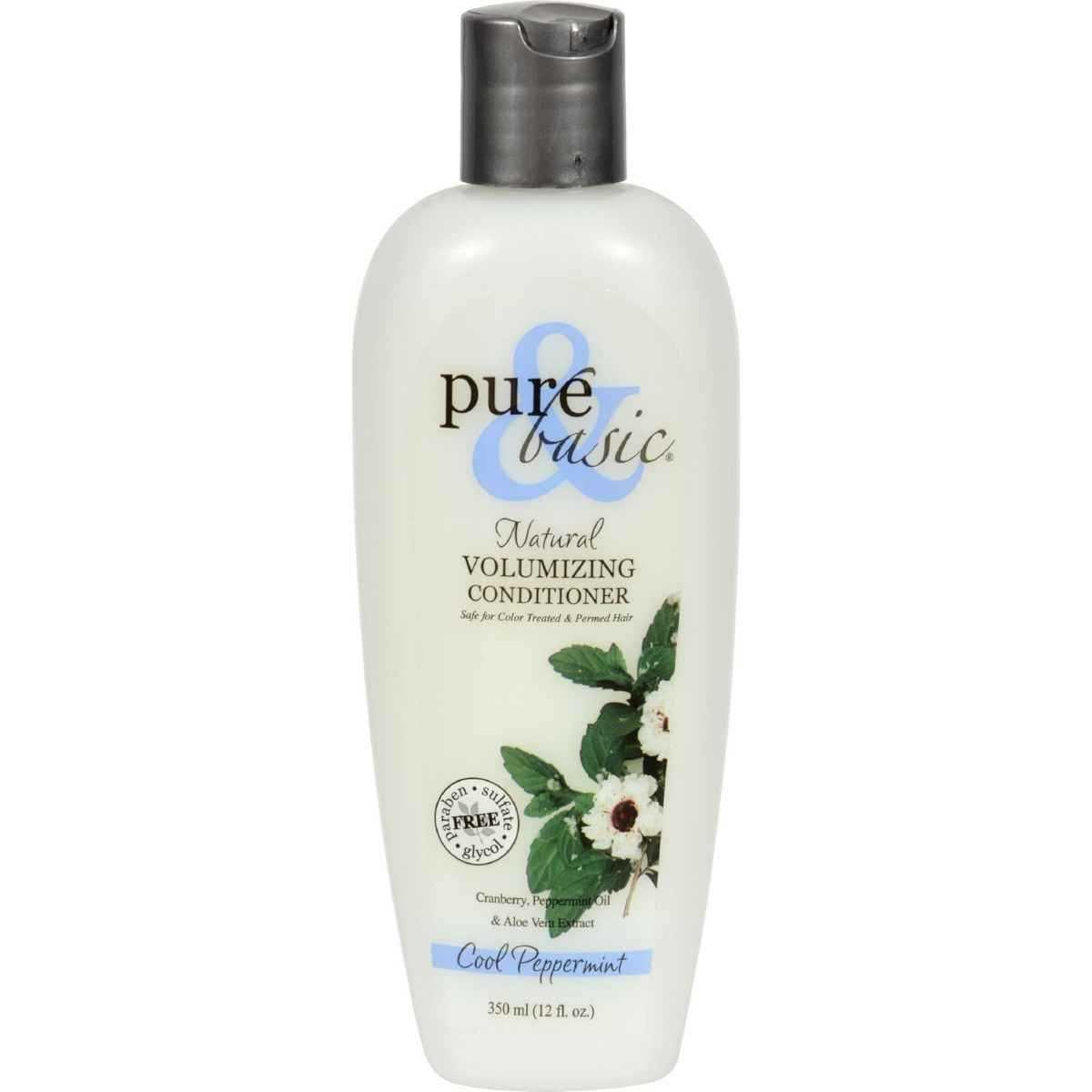 pure and basic natural volumizing shampoo. Black Bedroom Furniture Sets. Home Design Ideas