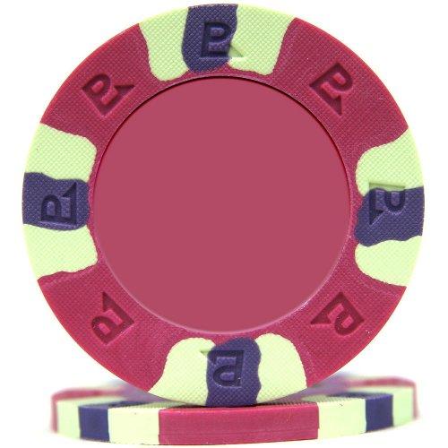 - Trademark Poker NexGEN 6002 Series PRO Classic Style Poker Chips (Set of 50), 9gm, Purple