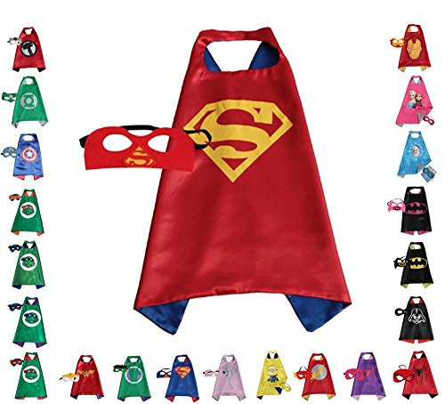 Costume Real Hulk Life (Super hero Cape and Mask, Children, Boys, Girls Dress Up)