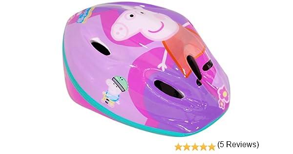 Peppa Pig - Casco de Bicicleta (Saica Toys 9135): Amazon.es ...