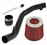 air intake system mk4 - AJP Distributors Racing Black Aluminum Cai Cold Air Intake High Flow Performance For MK4 MKIV VW Golf VR6