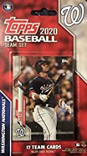 Washington Nationals 2020 Topps Factory Sealed Special Edition 17 Card Team Set with Juan Soto, Max Scherzer and Stephen Strasburg Plus