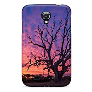 Wade-cases FHh246upSk Case Cover Skin For Galaxy S4 (old Wood)