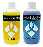 Calibration Solution Test Kit pH 7.0 & 10.0 - For Precise pH Indicator Perfect For Hydroponics, Food Processing, Aquariums, Pools - Calibrate pH Meters - Use With pH Probe - Pack of 2 (8oz Bottles)