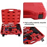 Timing Tool Kit,9pcs Camshaft Alignment Timing Tool Set Special Timing Tools with Double Vanos Engine X53.0 Tensioning Locking Alignment Timing Tool for BMW M52TU/M54/M56