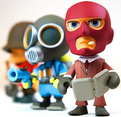 Team Fortress 2 Mini Figure Mystery PACK [1 RANDOM Figure] - Buy Online in UAE.  Toy Products