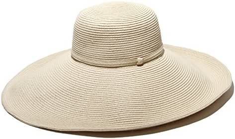 Gottex Women's Belladonna Wide Brim Packable Sun Hat, Rated UPF 50 For Max Sun Protection