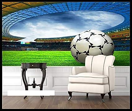 Muralxw Tapete 3d Wallpaper Sport Fussball Wandbilder Fur