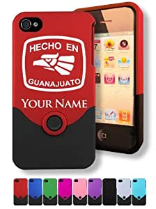 Engraved iPhone 4/4S Case/Cover - HECHO EN GUANAJUATO - Personalized for FREE (Click the CONTACT SELLER button after purchase and send a message with your case color and engraving request)