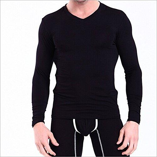 HDYS Los hombres ropa interior térmica Qiu Yi en el empaquetado, adelgazamiento pantalón fino ,