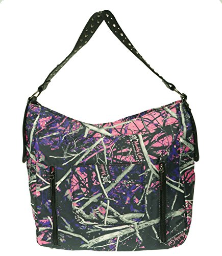 (Muddy Girl Print Concealed Carry Hobo Purse Kinsey Rhea)