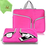 """Best Sleeves For Netbooks - UESWILL Neoprene Soft Sleeve Bag Briefcase for 13"""" Review"""