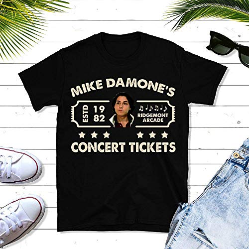 Mike-Damone Concert Ticket Vintage Office TV Show Unisex T-shirt - Premium T-shirt - Hoodie - Sweater - Long Sleeve - Tank Top