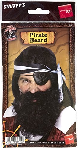Smiffy's Deluxe Costume Black Beard