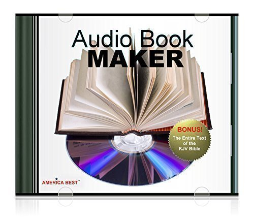 Audio Book Maker - Windows text-to-speech software - Voice reader uses Windows natural voices - KJV Audio Bible CD can be made from included text files