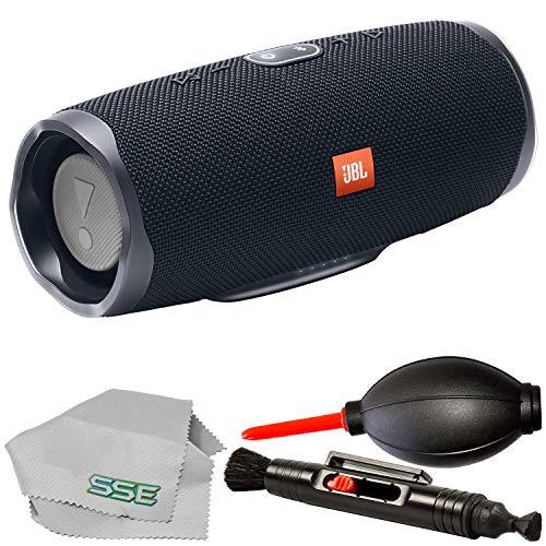 JBL Charge 4 Portable Waterproof Bluetooth Speaker (Black)
