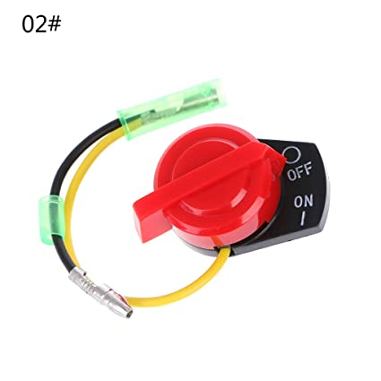 Delaman Engine On Off Stop Switch for Honda Gx110 Gx120 Gx160 Gx200 Gx240 Gx270 Gx340 Gx390