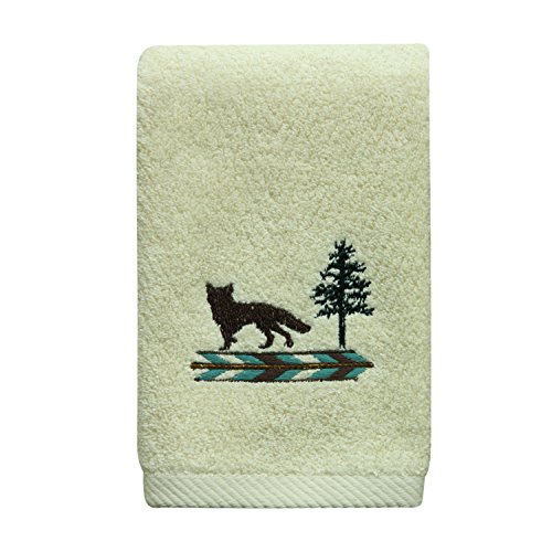 Bacova Guild 47455 Discover The Wild Fingertip Towel by Bacova Guild