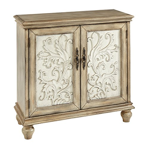 (Madison Park MP130-0156 Driscoll 2-Door Cabinet, Reclaimed Natural)