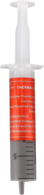 Gaetooely 30g Pate Thermique de Silicone WLP Pate de Refroidissement pour CPU Refroidisseur