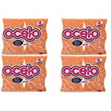 O-Cel-O Handy Sponge, 4.7-Inches x 3-Inches x 3/5-Inches, 16-Count (Colors May Vary)