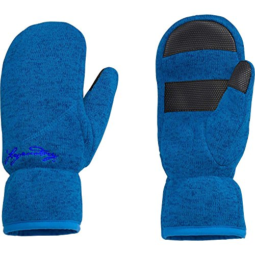 Legendary Whitetails Arctic Wind Winter Mittens Blue Bird