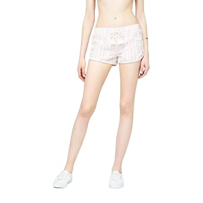 Aeropostale Women's Cape juby Textured Stripe Soft Shorts