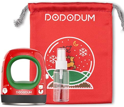 DODODUM EasyPress Mini Heat Press Machine for T Shirts Shoes Hats Small HTV Vinyl Projects Portable Mini Easy Press for Heating Transfer-Chriatmas