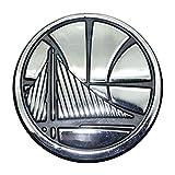 warrior car emblem - FANMATS 20406 NBA - Golden State Warriors Emblem, Team Color, 2.7
