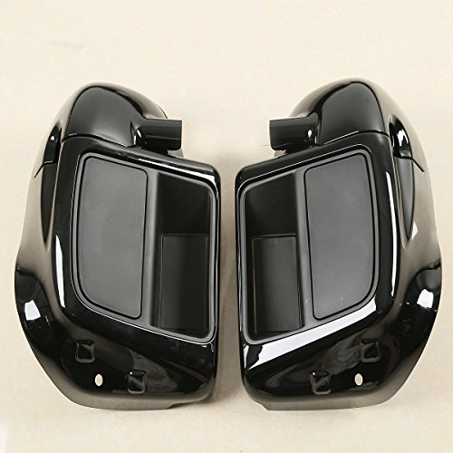 XMT-MOTO Lower Vented Leg Fairing Glove Box For Harley Touring Road King, Street Glide,Road Glide, Electra Glide, org equipment on FLHTCU 2014-2018