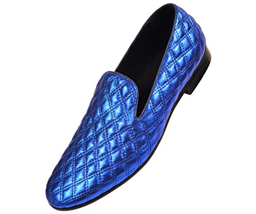 Smoking Slipper Shoe Chinese Loafer Dress On Nightclub Clawson Mens Royal Quilted Amali Style Metallic Slip pqXwInP