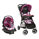 Disney Baby Minnie Mouse Lift & Stroll Plus Travel System with...
