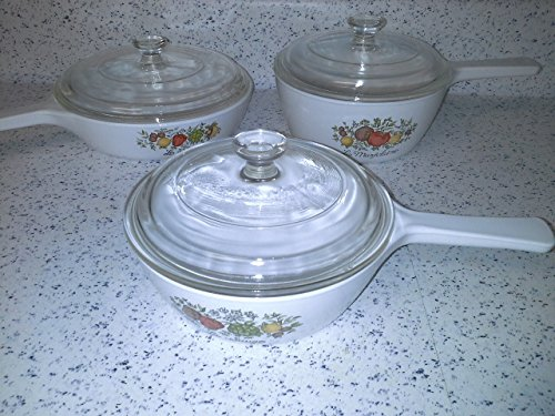 Corning Ware Spice O' Life menuette set 6 pieces