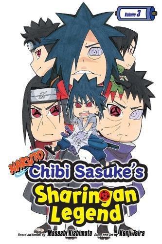 Naruto: Chibi Sasuke's Sharingan Legend, Vol. - Naruto Kakashi Manga