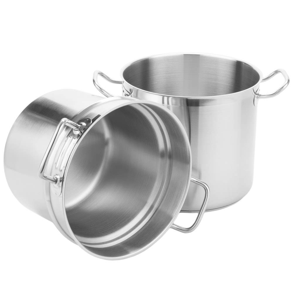 Stainless Steel Aluminum-Clad Double Boiler